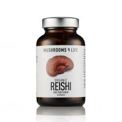 Organic Reishi capsules 60 stuks