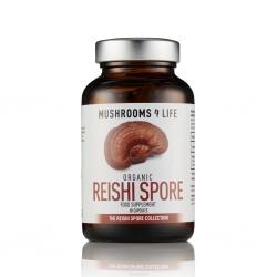 Organic Reishi Spore capsules 60 stuks
