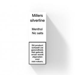 MILLERS SILVERLINE NIC SALTS - MENTHOL