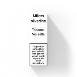 MILLERS SILVERLINE NIC SALTS - TOBACCO NR.1