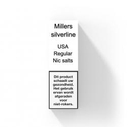 MILLERS SILVERLINE NIC SALTS - USA REGULAR
