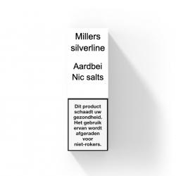 MILLERS SILVERLINE NIC SALTS - AARDBEI