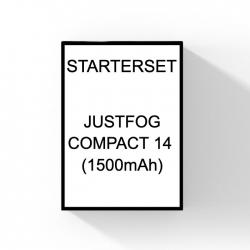 Justfog Compact 14 Startset met 1500 mah batterij