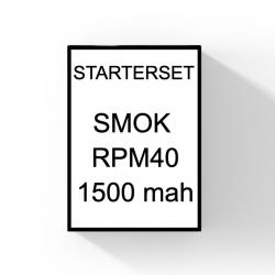 SMOK RPM40 startset 1500 mah