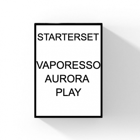 VAPORESSO - STARTERSET - AURORA PLAY