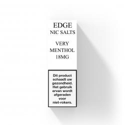 EDGE nicotine salts Very Menthol 18 MG