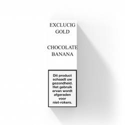 EXCLUCIG GOLD LABEL E-LIQUID CHOCOLATE BANANA
