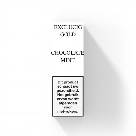 EXCLUCIG GOLD LABEL E-LIQUID CHOCOLATE MINT