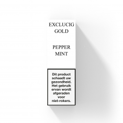 EXCLUCIG GOLD LABEL E-LIQUID PEPPERMINT