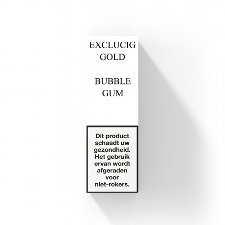 EXCLUCIG GOLD LABEL E-LIQUID BUBBLEGUM