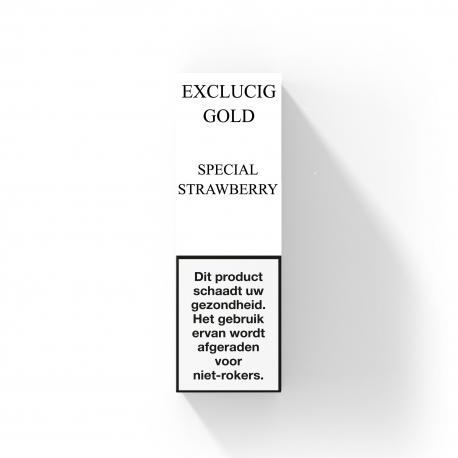 EXCLUCIG GOLD LABEL E-LIQUID SPECIAL STRAWBERRY