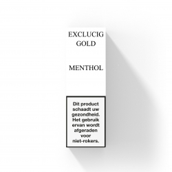 EXCLUCIG GOLD LABEL E-LIQUID MENTHOL