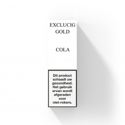 EXCLUCIG GOLD LABEL E-LIQUID COLA