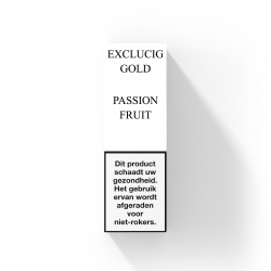 EXCLUCIG GOLD LABEL E-LIQUID PASSION FRUIT