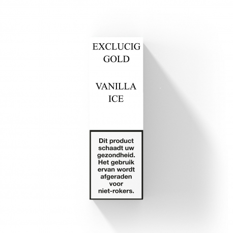 EXCLUCIG GOLD LABEL E-LIQUID VANILLA ICE