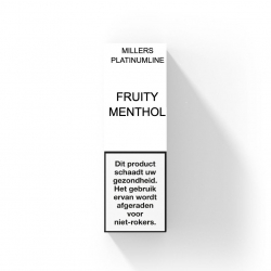 Millers Fruity Menthol