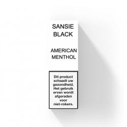 SANSIE BLACK LABEL - AMERICAN MENTHOL