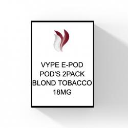 VYPE E-POD gevulde pods- Blond Tobacco 18mg ns