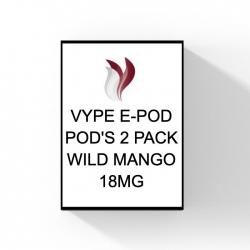 VYPE E-POD POD - WILD MANGO (2 pack) - 18mg