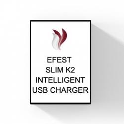 Efest Slim K2 Intelligent USB charger.