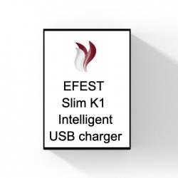 Efest Slim K1 Intelligent USB charger.