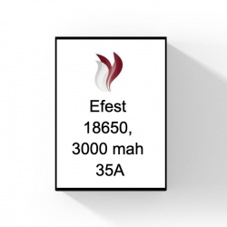 Efest 18650, 3000 mah 35A