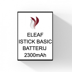 ELEAF - ISTICK BASIC - BATTERIJ 2300mAh