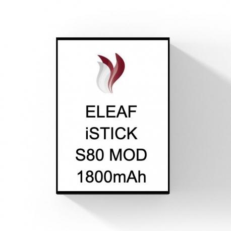ELEAF - iSTICK S80 MOD - 1800mAh