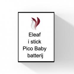 Eleaf i stick Pico Baby batterij