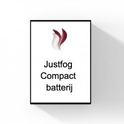 Justfog Compact batterij