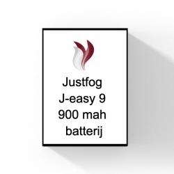 Justfog J-easy 9 900 mah batterij