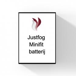 Justfog Minifit batterij