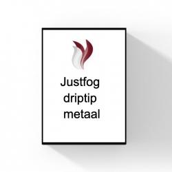 Justfog driptip metaal