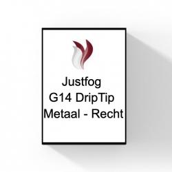Drip Tip Metaal - Recht