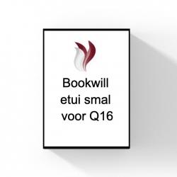 Bookwill etui smal voor Q16