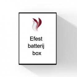 Efest batterij box