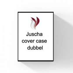 Juscha cover case dubbel