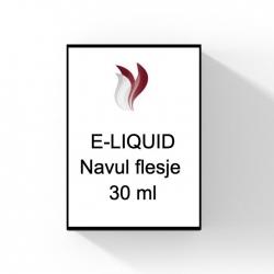 Navul flesje van 30 ml leeg