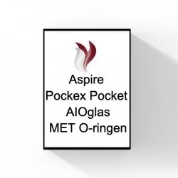Aspire Pockex Pocket AIOglas+O-ringen