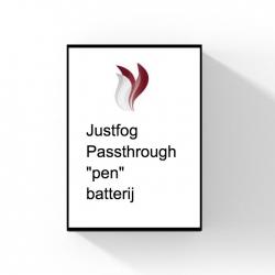 Justfog passthrough batterij