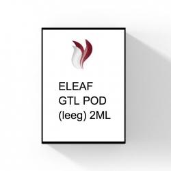 ELEAF GTL EMPTY PODS - 2ML