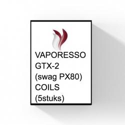 Vaporesso - GTX-2 (Swag PX80) - Coils (5 st.)