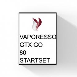 VAPORESSO GTX GO 80 STARTSET